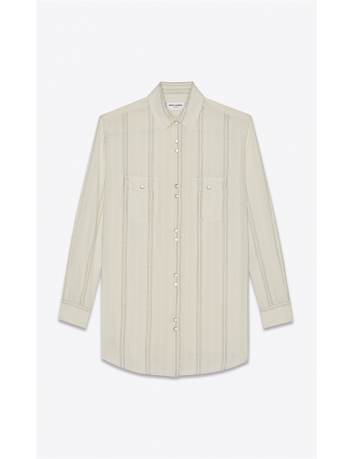 Oversize long shirt Saint Laurent - BIG BOSS MEGEVE