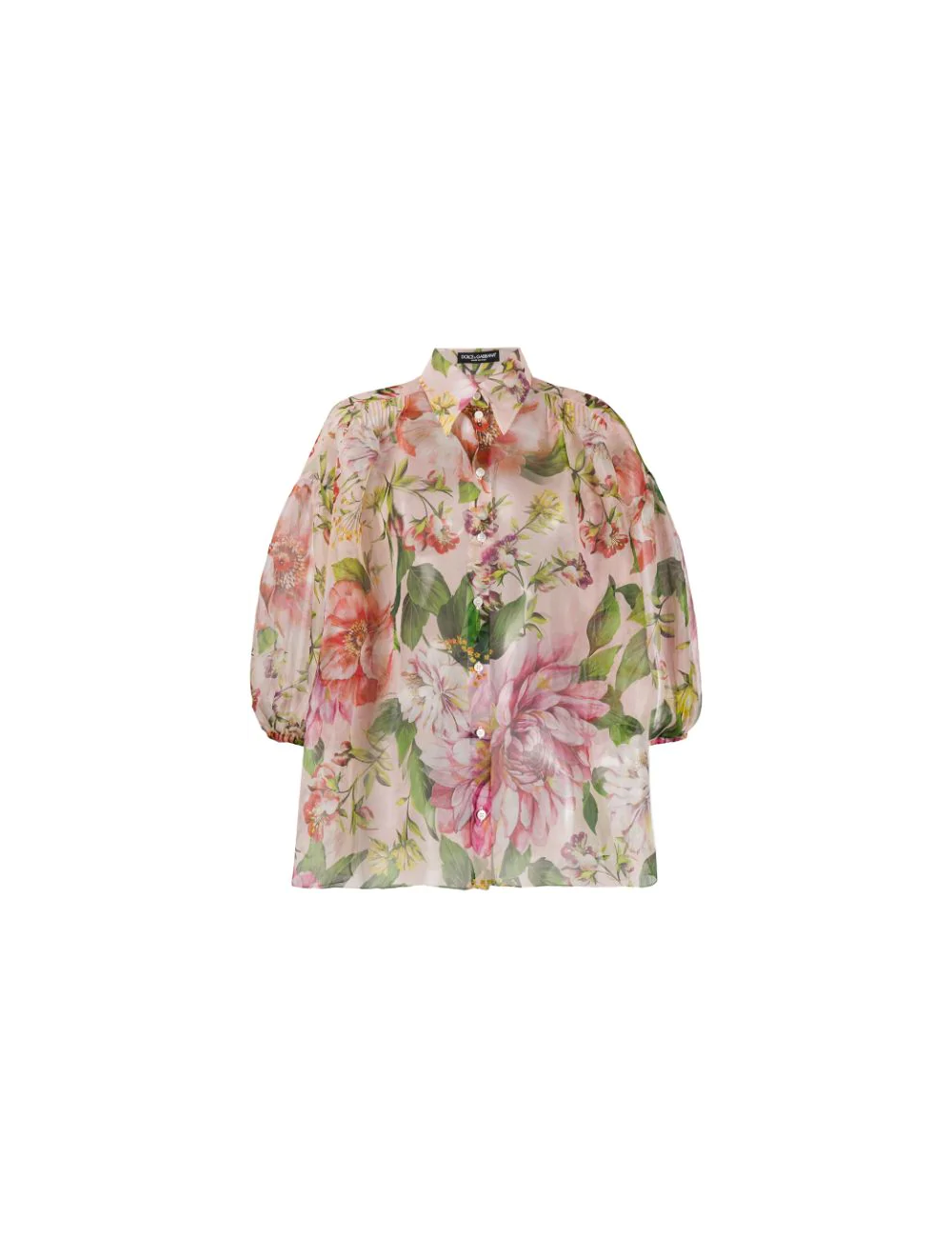 Chemise en soie Dolce Gabbana - BIG BOSS MEGEVE