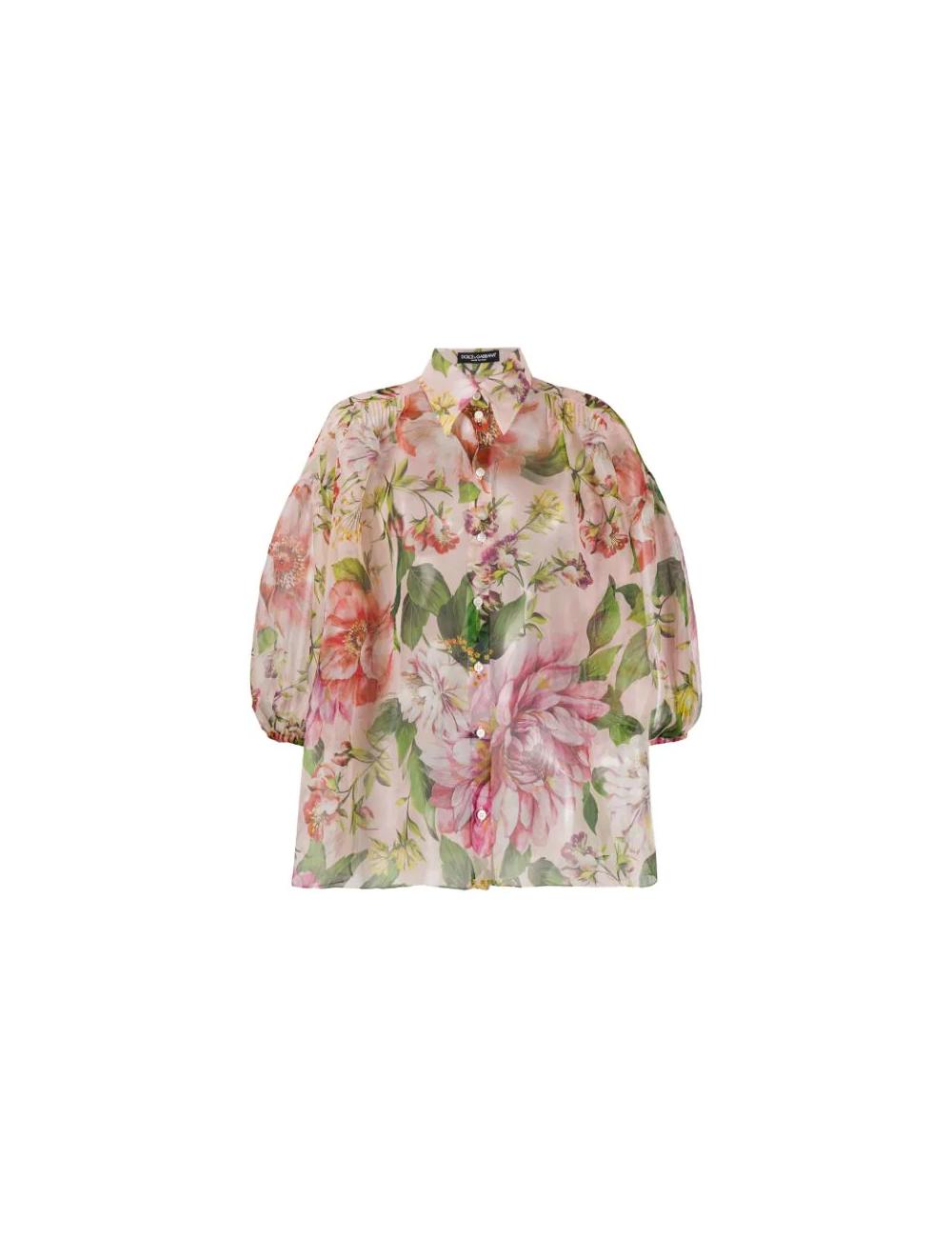 Silk shirt Dolce Gabbana - BIG BOSS MEGEVE