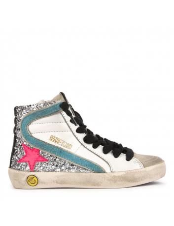 Sneakers slide pailletée enfant Golden Goose - BIG BOSS MEGEVE