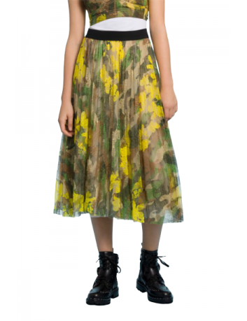 Camouflage pinted lace skirt Ermanno Scervino - BIG BOSS MEGEVE