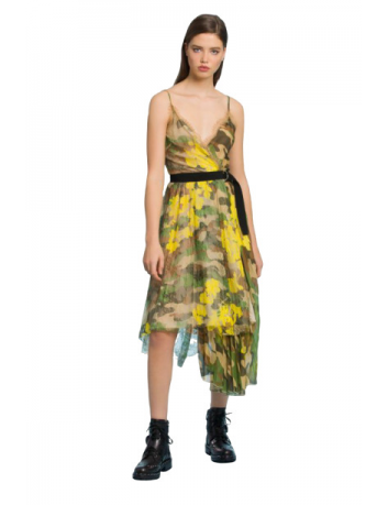 Dress camouflage print Ermanno Scervino - BIG BOSS MEGEVE