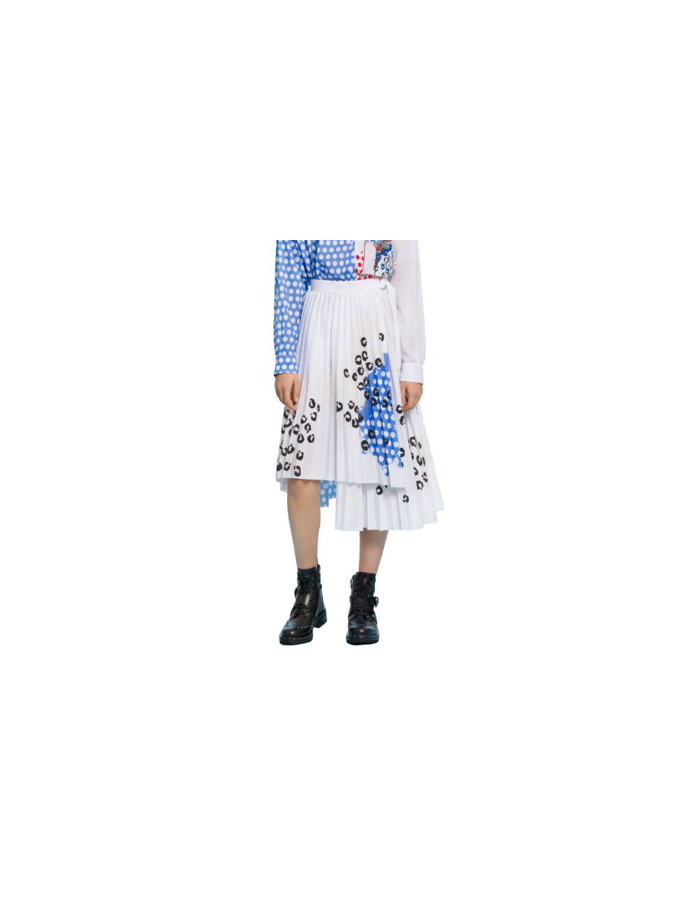 Mid-length printed skirt Ermanno Scervino - BIG BOSS MEGEVE
