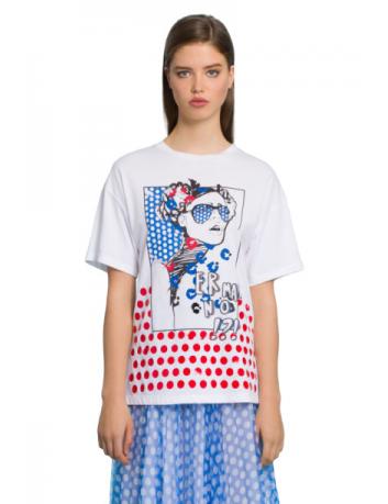 T-shirt imprimé Ermanno Scervino - BIG BOSS MEGEVE