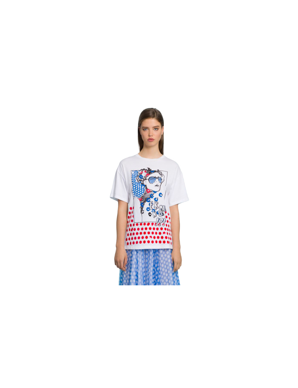 Printed T-shirt Ermanno Scervino - BIG BOSS MEGEVE