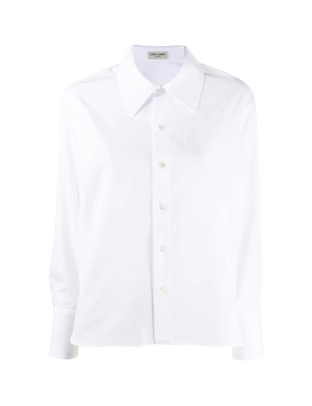 Chemise en crêpe de chine Saint Laurent - BIG BOSS MEGEVE