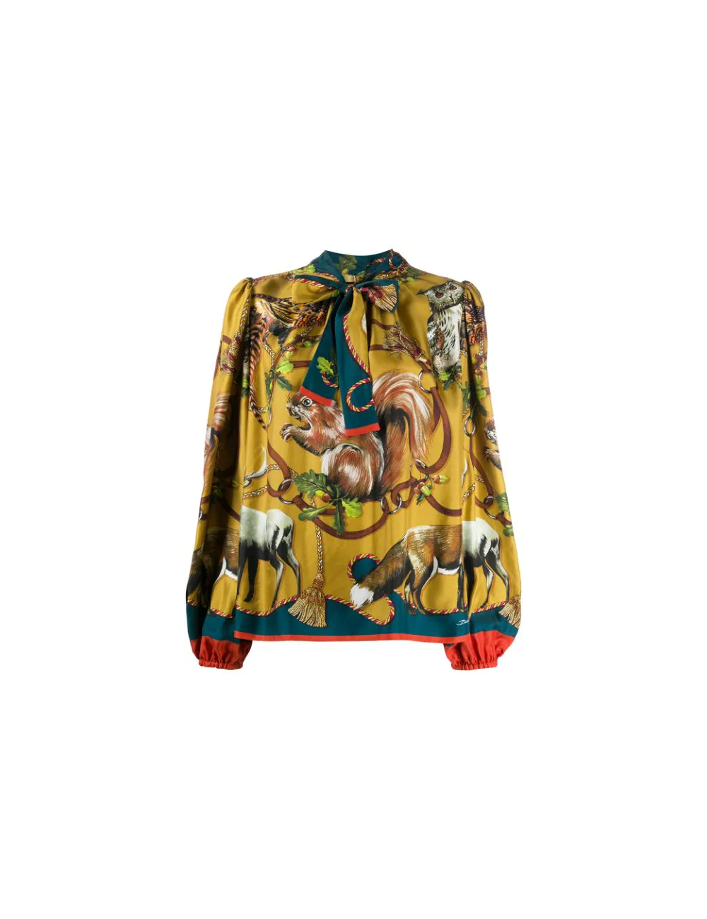Printed blouse Dolce Gabbana - BIG BOSS MEGEVE
