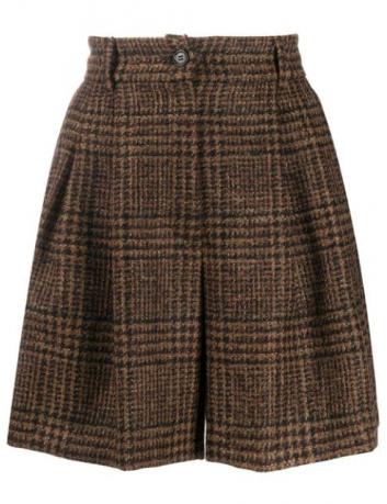 Check tweed shorts Dolce Gabbana - BIG BOSS MEGEVE