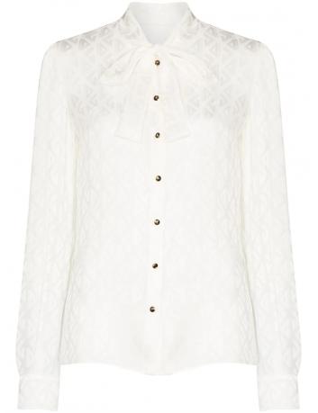 Damask scarf collar blouse Dolce Gabbana - BIG BOSS MEGEVE