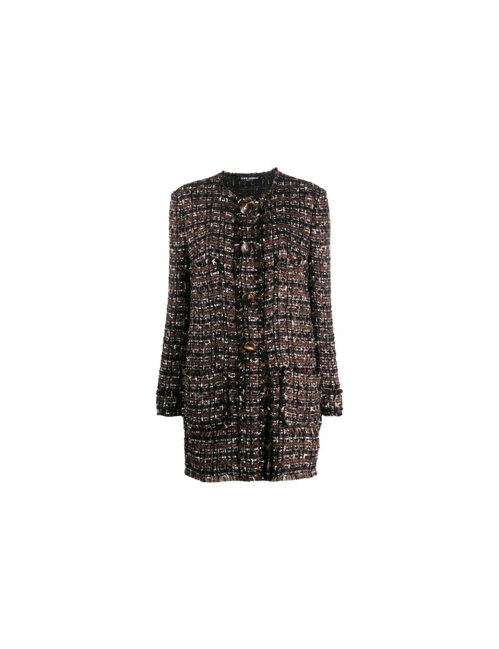 Acrylic mid-length coat Dolce Gabbana - BIG BOSS MEGEVE