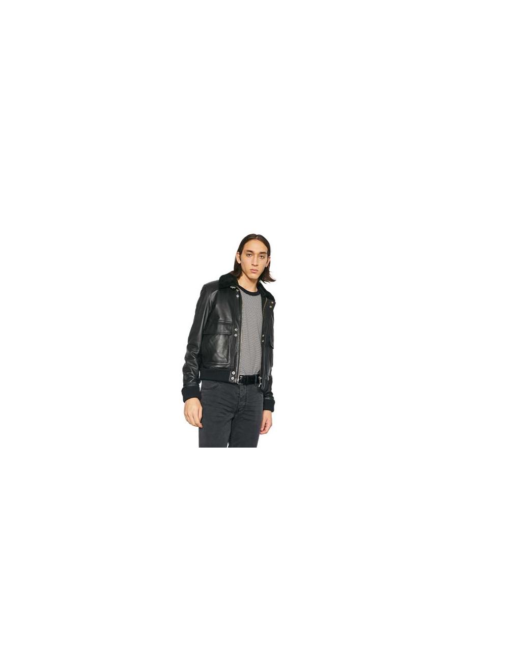 Leather jacket Volf  Iro - BIG BOSS MEGEVE