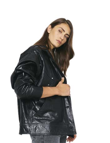 Leather jacket Malspy Iro - BIG BOSS MEGEVE