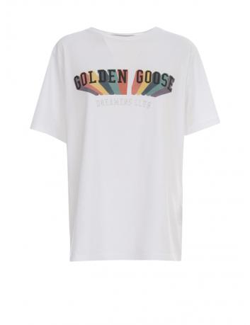 Rainbow T-shirt Golden Goose - BIG BOSS MEGEVE