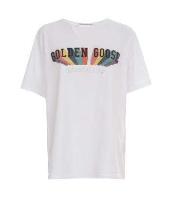 T-shirt rainbow Golden Goose - BIG BOSS MEGEVE