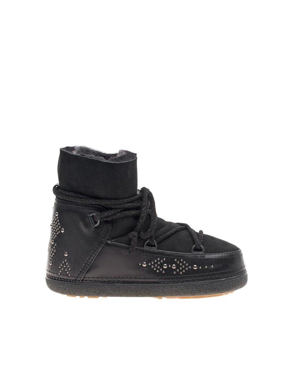 IKKII Boots Punk Studs Black