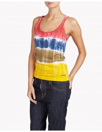Top multicolor Dsquared